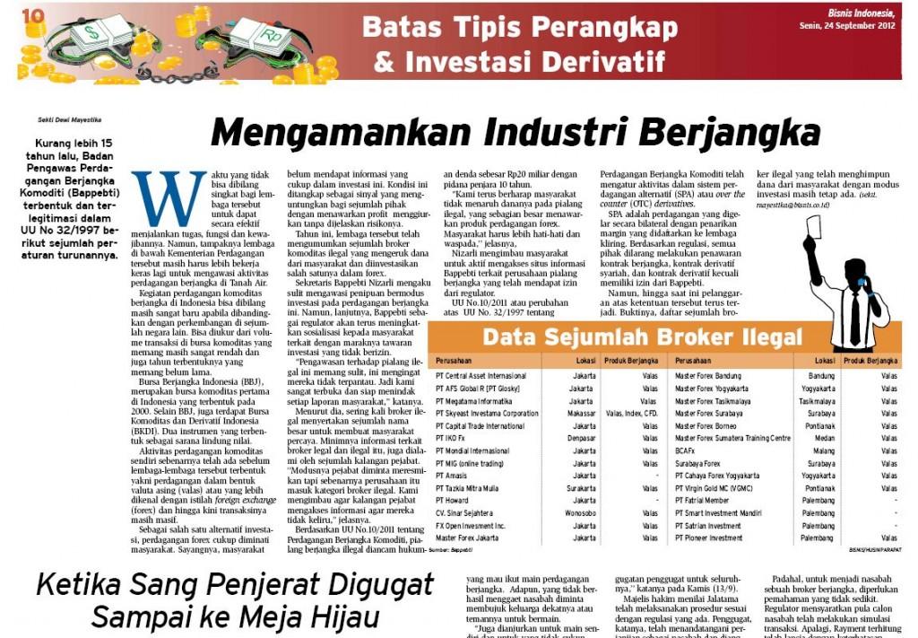 Forex broker indonesia berita
