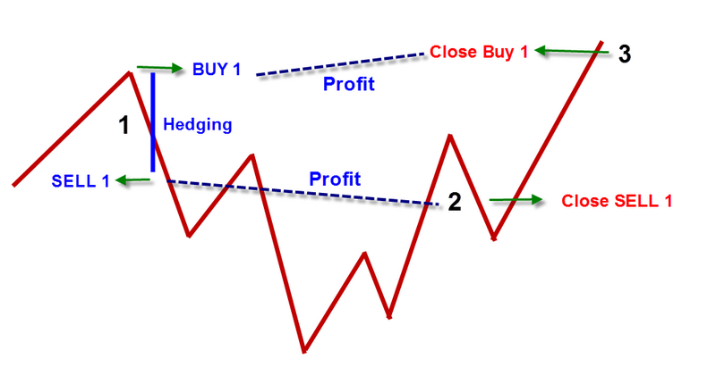 What is hedging in forex with example